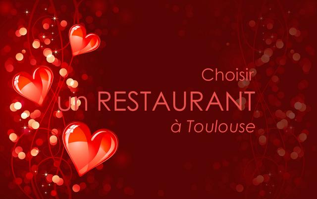 Restaurant Saint-Valentin à Toulouse